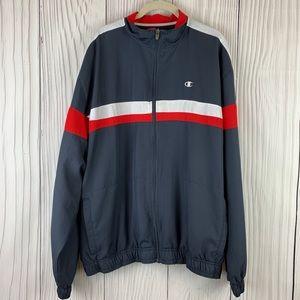 Champion Color Blocked Full Zippered Men's Jacket